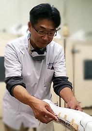 1級装具製作技能士 松岡芳樹
